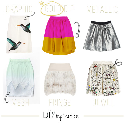 diy inspiration: skirts