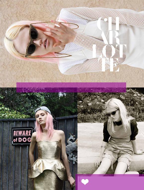 Charlotte Free for No. Magazine #15