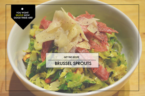 Recipe: Brussel Sprouts