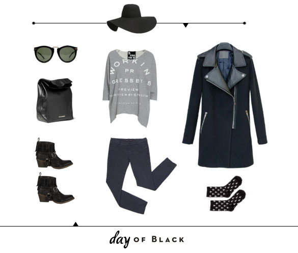 What to wear // Black