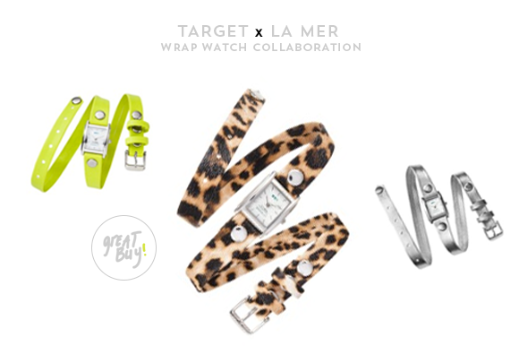 Great Buy: Target x La Mer Wrap Watches