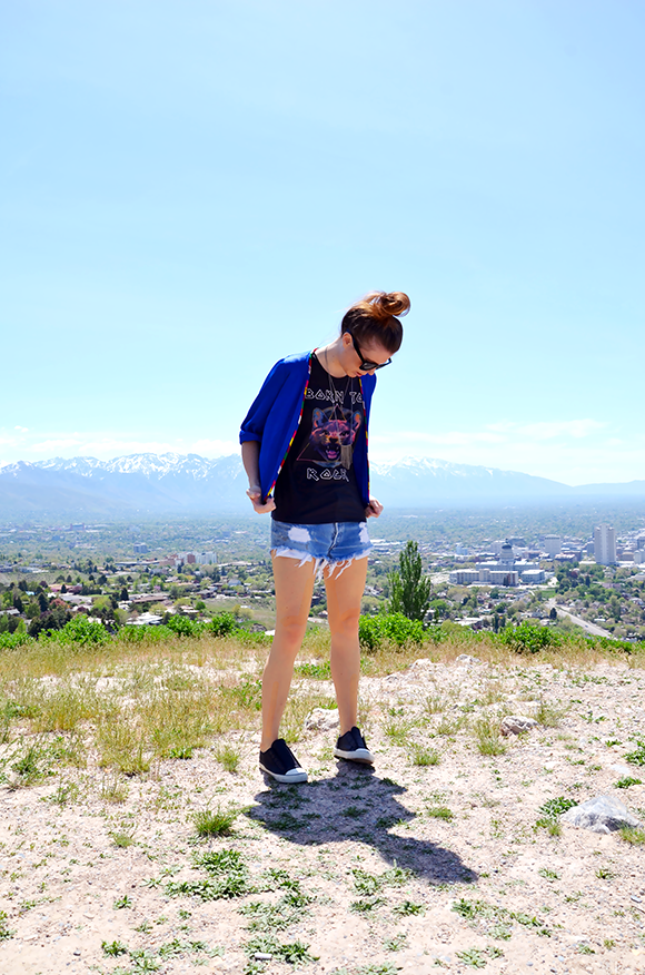 the best levi cut offs | Outfit